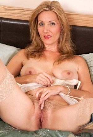 Mature Spreading Pussy